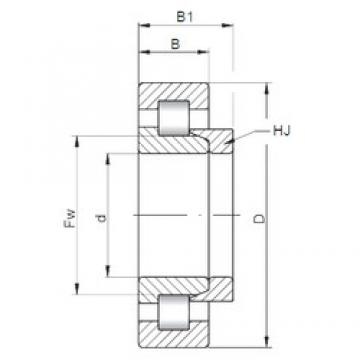 ISO NH419 cylindrical roller bearings