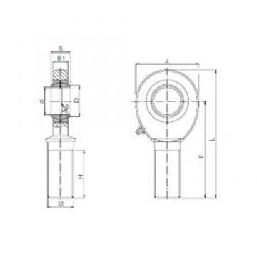 ISO SA 18 plain bearings