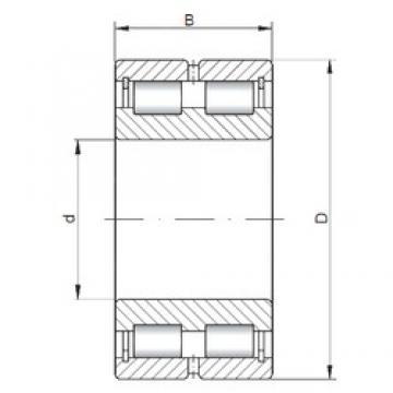 ISO NNCL4926 V cylindrical roller bearings