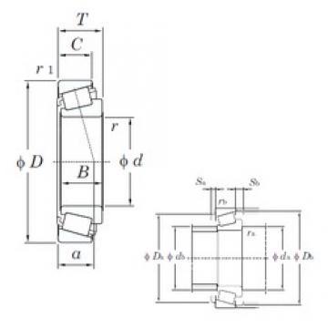 KOYO EE640192/640260 tapered roller bearings