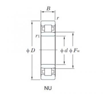 KOYO NU213R cylindrical roller bearings
