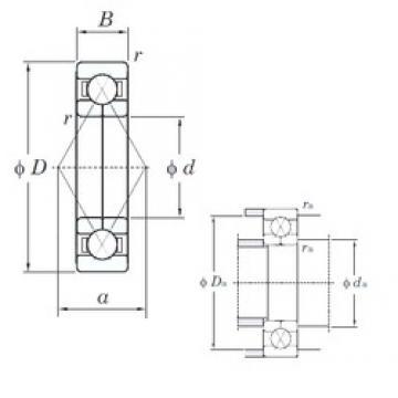 KOYO 6313BI angular contact ball bearings