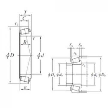 KOYO 93800A/93125 tapered roller bearings