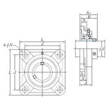 KOYO UCF203 bearing units