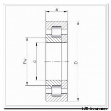 ISO 7410 A angular contact ball bearings