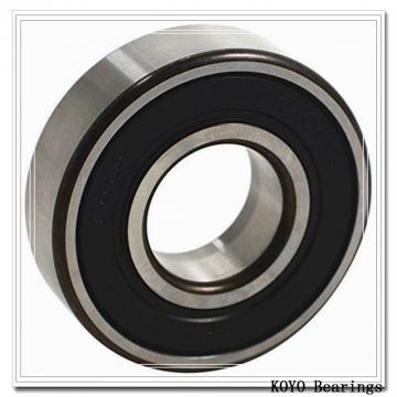 KOYO 6301-2RS deep groove ball bearings