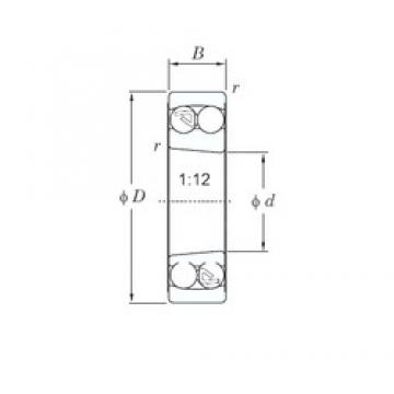 KOYO 1205K self aligning ball bearings
