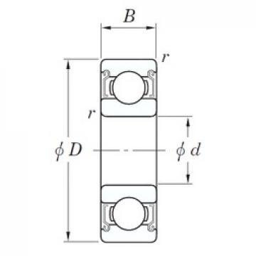 KOYO SV 6201 ZZST deep groove ball bearings