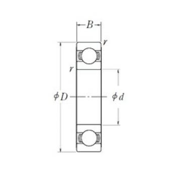 NSK 6906L11 deep groove ball bearings