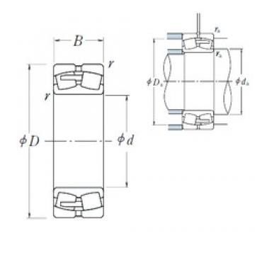 NSK 23096CAE4 spherical roller bearings