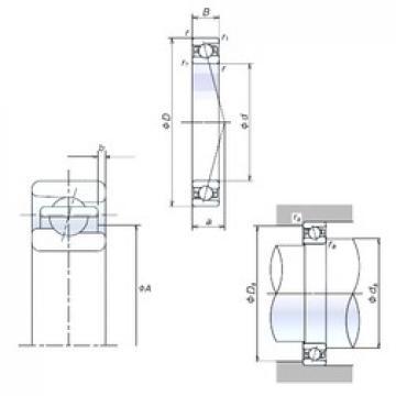 NSK 35BNR10H angular contact ball bearings