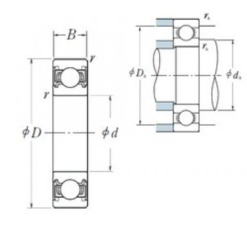 NSK 6819VV deep groove ball bearings