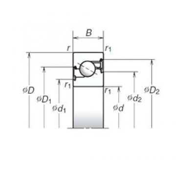 NSK 25TAC62BDDG thrust ball bearings