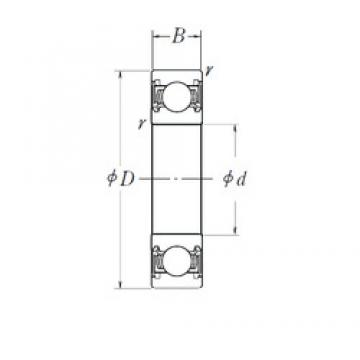 NSK 6801DD deep groove ball bearings
