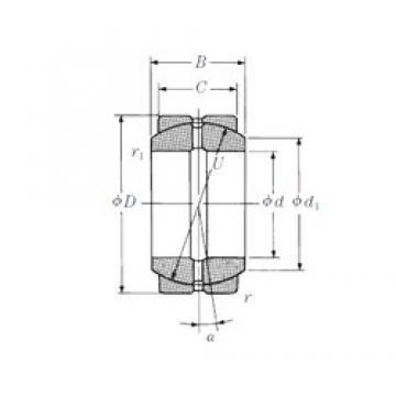 NSK 70FSF105 plain bearings