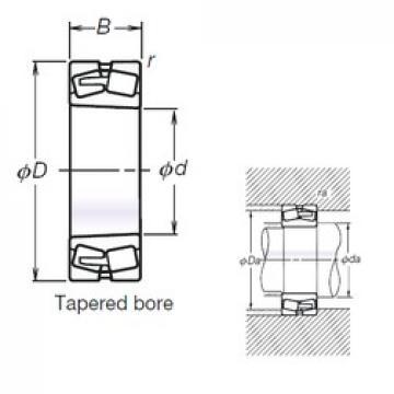 NSK TL23228CKE4 spherical roller bearings