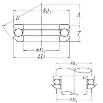 NSK 53203 thrust ball bearings