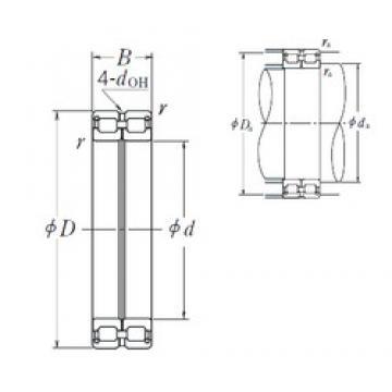 NSK RS-4920E4 cylindrical roller bearings