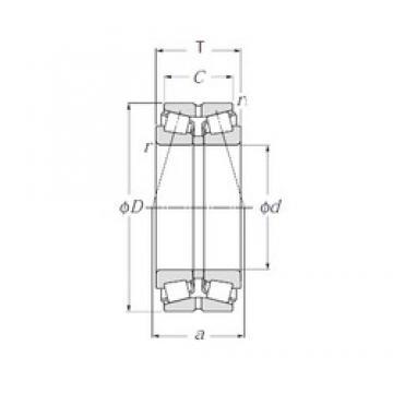 NTN 430221XU tapered roller bearings