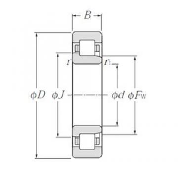 NTN NJ236 cylindrical roller bearings