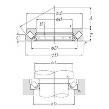 NTN 29468 thrust roller bearings