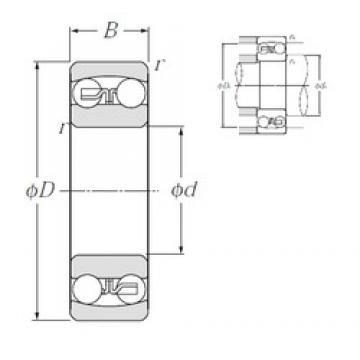 NTN 1204S self aligning ball bearings