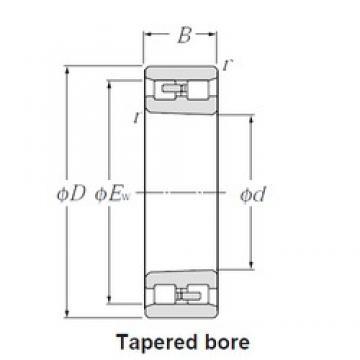 NTN NN3076K cylindrical roller bearings