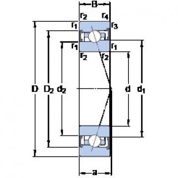 SKF S71913 ACB/HCP4A angular contact ball bearings