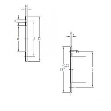 SKF PCMW 264401.5 M plain bearings