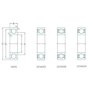 SKF 6219/VA201 deep groove ball bearings