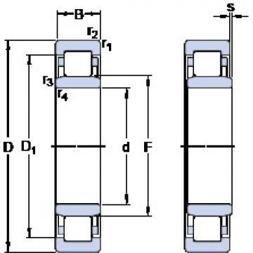 SKF NU 316 ECPH thrust ball bearings