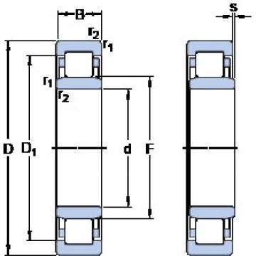SKF NU 2060 ECMA thrust ball bearings