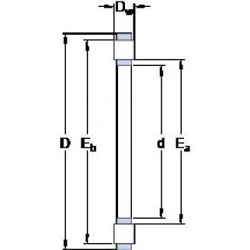 SKF K 81236 M thrust roller bearings