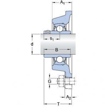 SKF FY 2.7/16 TF/VA228 bearing units