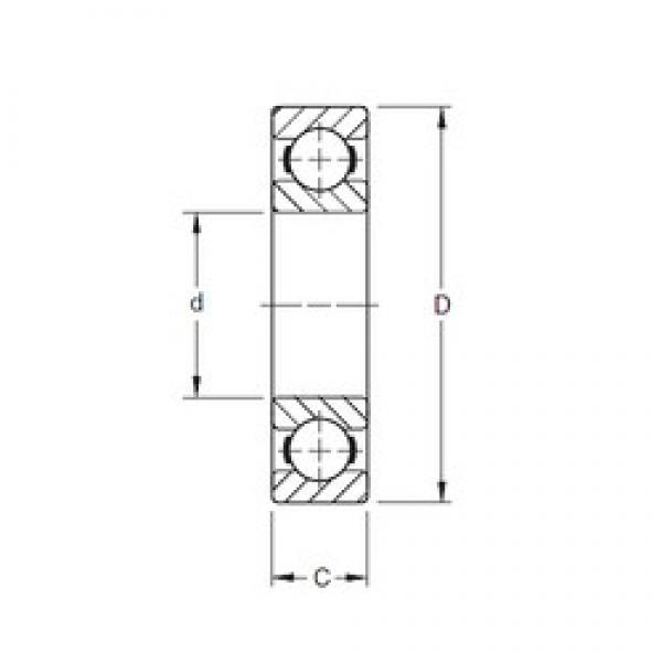 Timken 9111K deep groove ball bearings #2 image