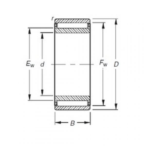 Timken NAO85X115X30 needle roller bearings #2 image