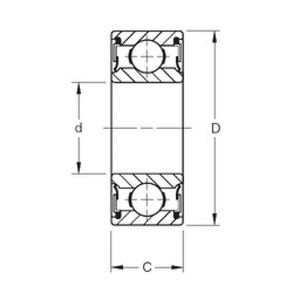 Timken 212NPP deep groove ball bearings #2 image