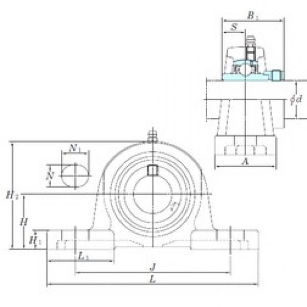 KOYO NAP207 bearing units #2 image
