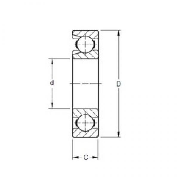 Timken 322W deep groove ball bearings #2 image