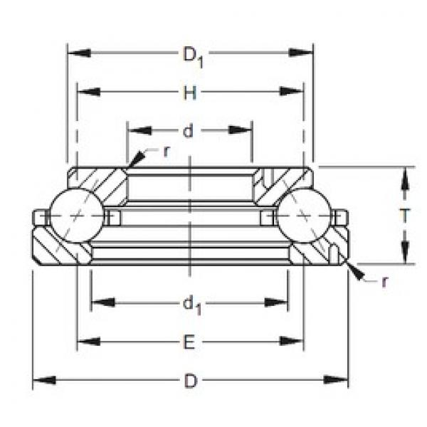 Timken 150TVL701 angular contact ball bearings #2 image