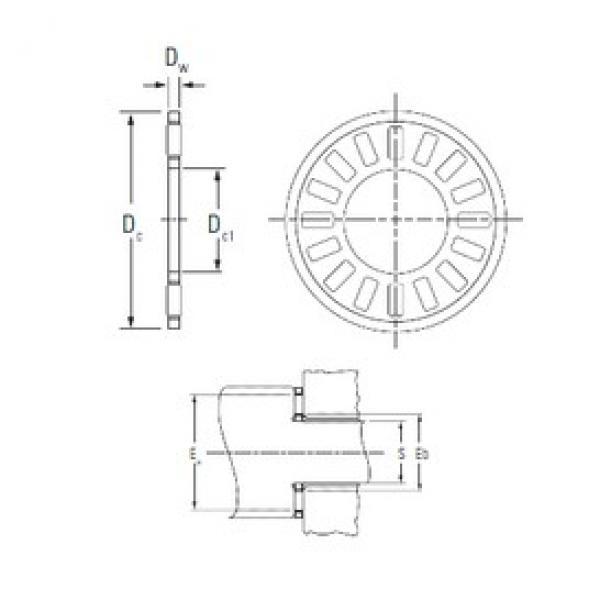 KOYO NTA-411 needle roller bearings #2 image