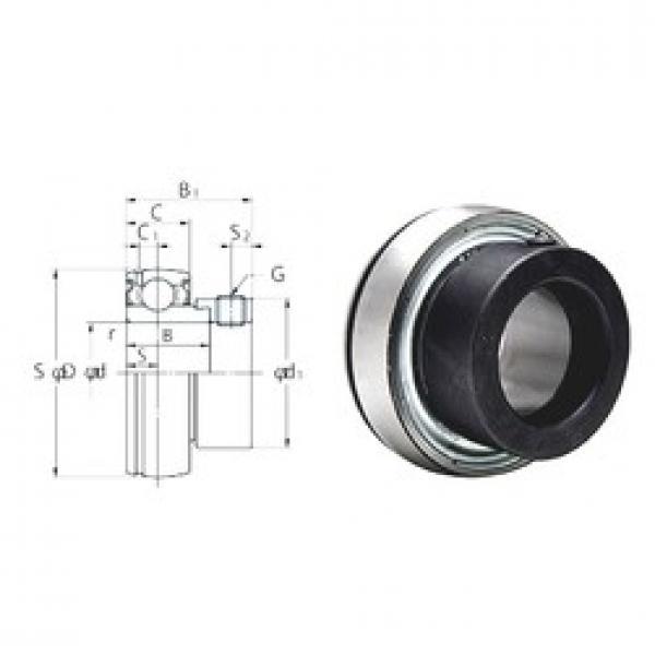 KOYO SA207-22F deep groove ball bearings #2 image