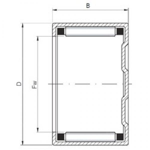 ISO BK101610 cylindrical roller bearings #2 image