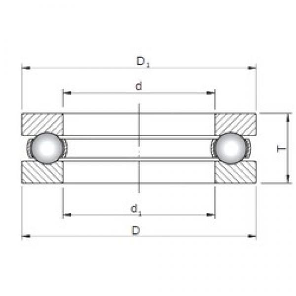 ISO 51216 thrust ball bearings #2 image