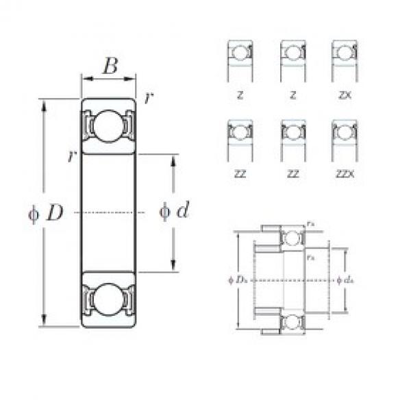 KOYO 6301Z deep groove ball bearings #2 image