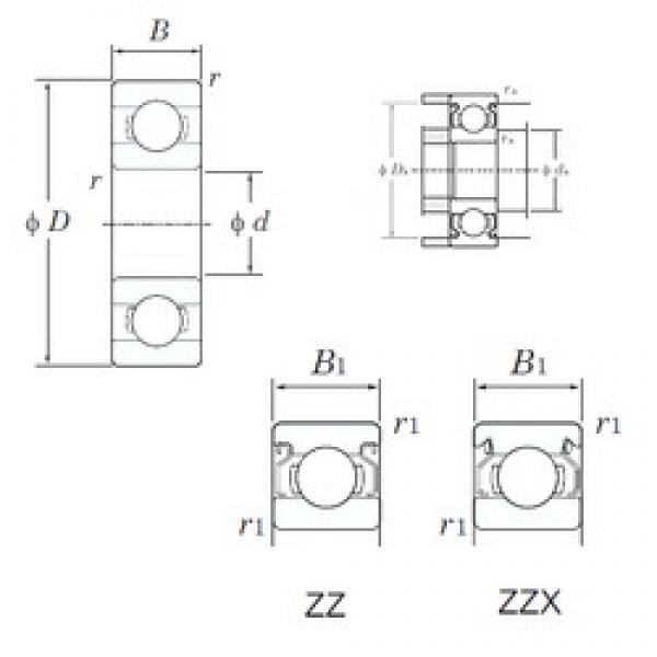 KOYO 639ZZ deep groove ball bearings #2 image
