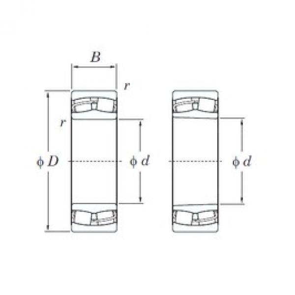 KOYO 24128RHK30 spherical roller bearings #2 image