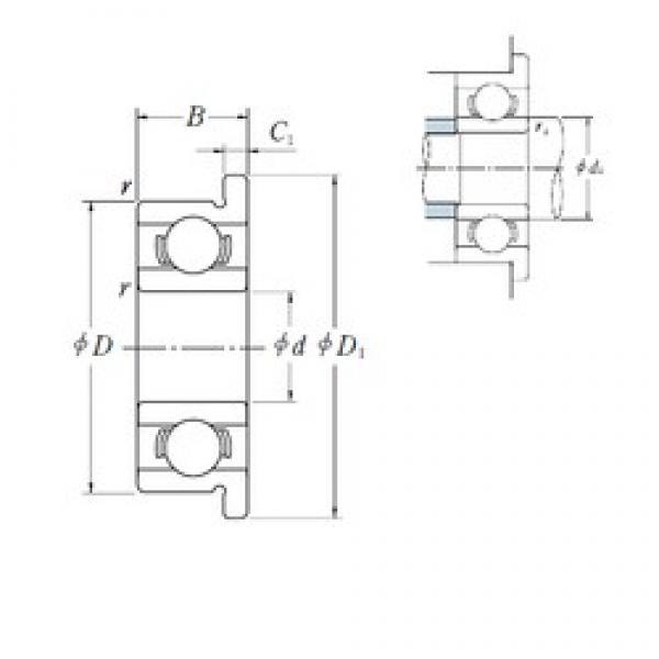 ISO FR133 deep groove ball bearings #2 image